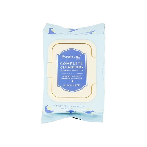 Complete Cleansing Witch Hazel Pre-Wet Towelettes - The Crème Shop