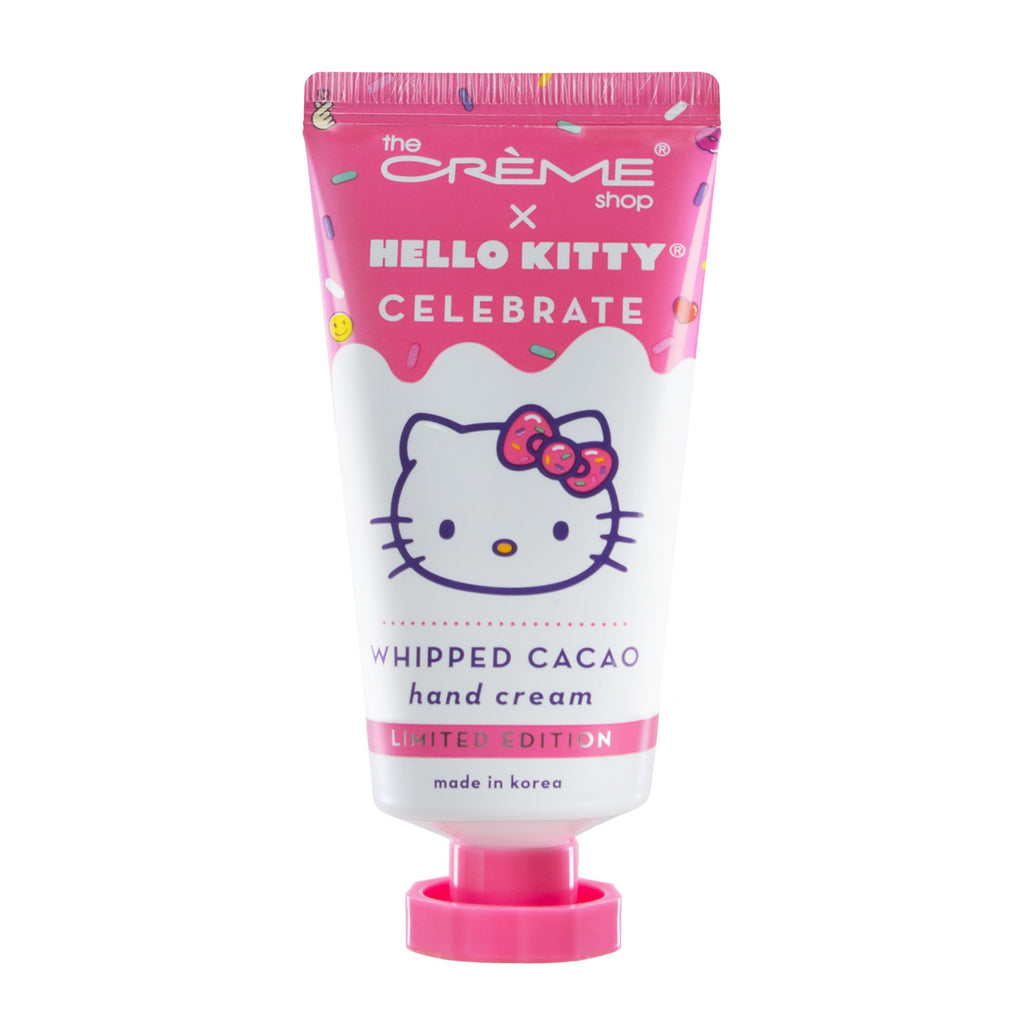 Whipped Cacao Hand Cream with Shea Butter & Vitamin E - Intensely Hydrating & Repairing The Crème Shop x Sanrio The Crème Shop