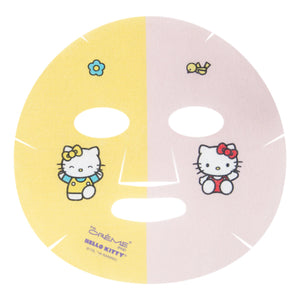 Hello Kitty & Mimi Pineapple & Hyaluronic Acid Fusion Sheet Mask - The Crème Shop
