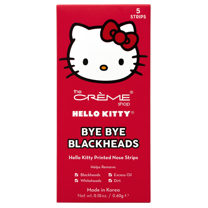 Bye Bye Blackheads - Hello Kitty - The Crème Shop