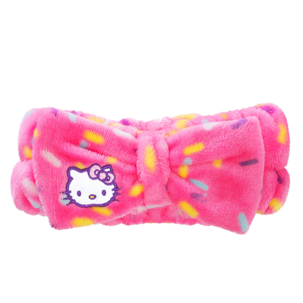 Celebrate Plush Spa Headband - Cruelty-Free, Vegan The Crème Shop x Sanrio The Crème Shop