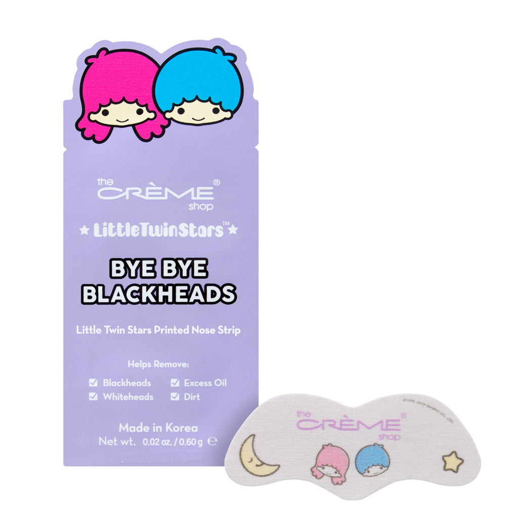 Bye Bye Blackheads - Little Twin Stars - The Crème Shop