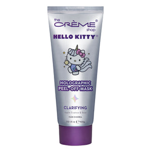 Hello Kitty Unicorn Holographic Peel-Off Mask - The Crème Shop