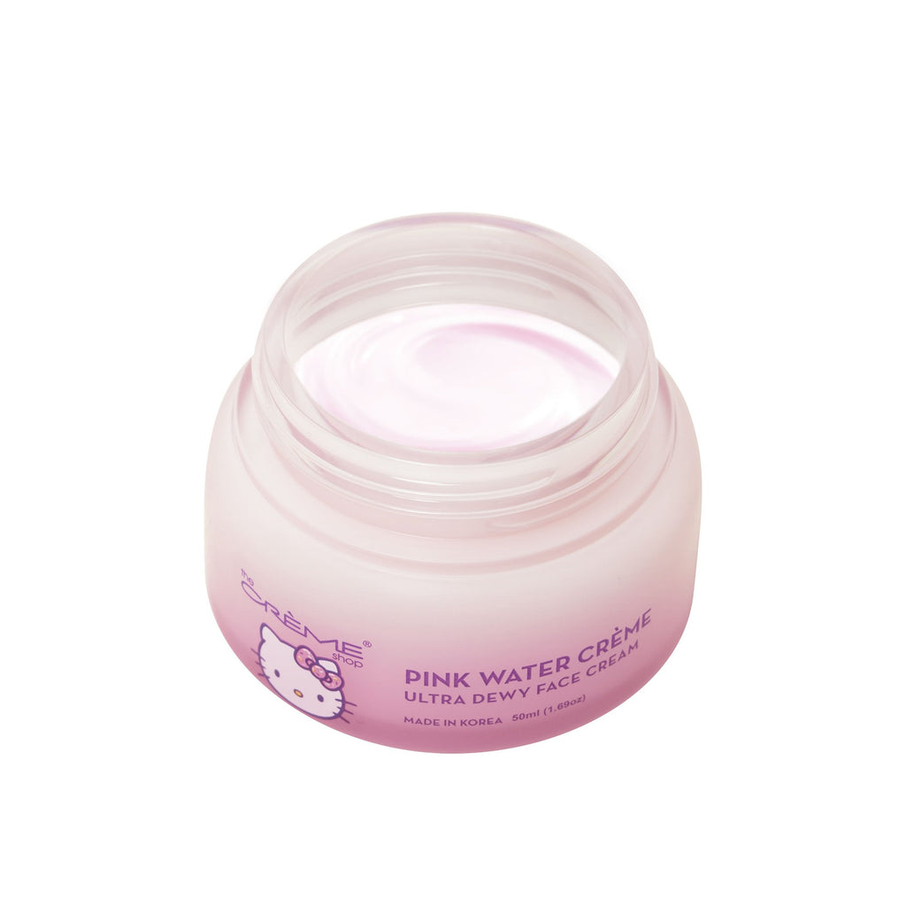 Pink Water Crème - Ultra Dewy Face Cream The Crème Shop x Sanrio The Crème Shop