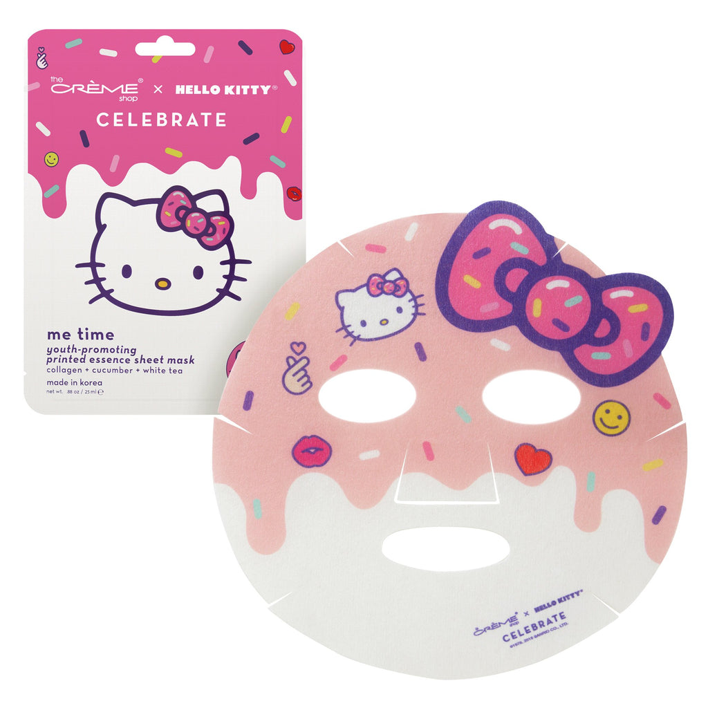 Me Time! Youth-Promoting Sheet Mask The Crème Shop x Sanrio The Crème Shop