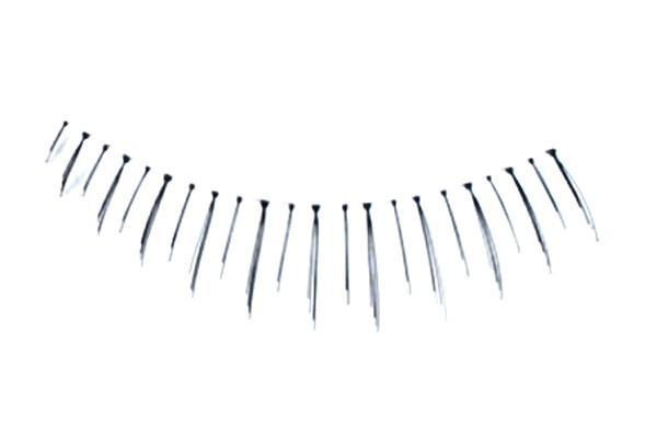 Eyelashes 100% Human Hair - reusable - #49 - The Crème Shop