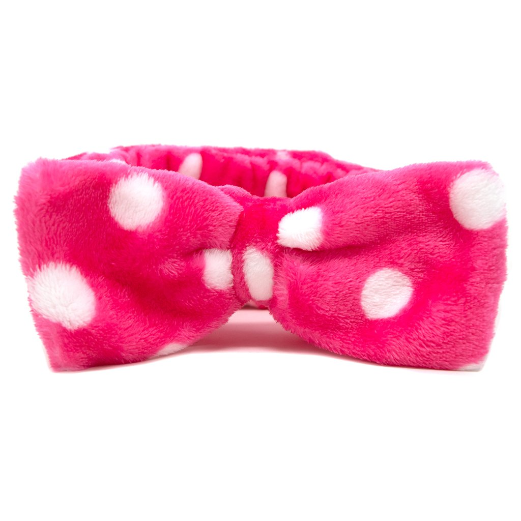 Teddy Headyband Headband The Crème Shop Pink