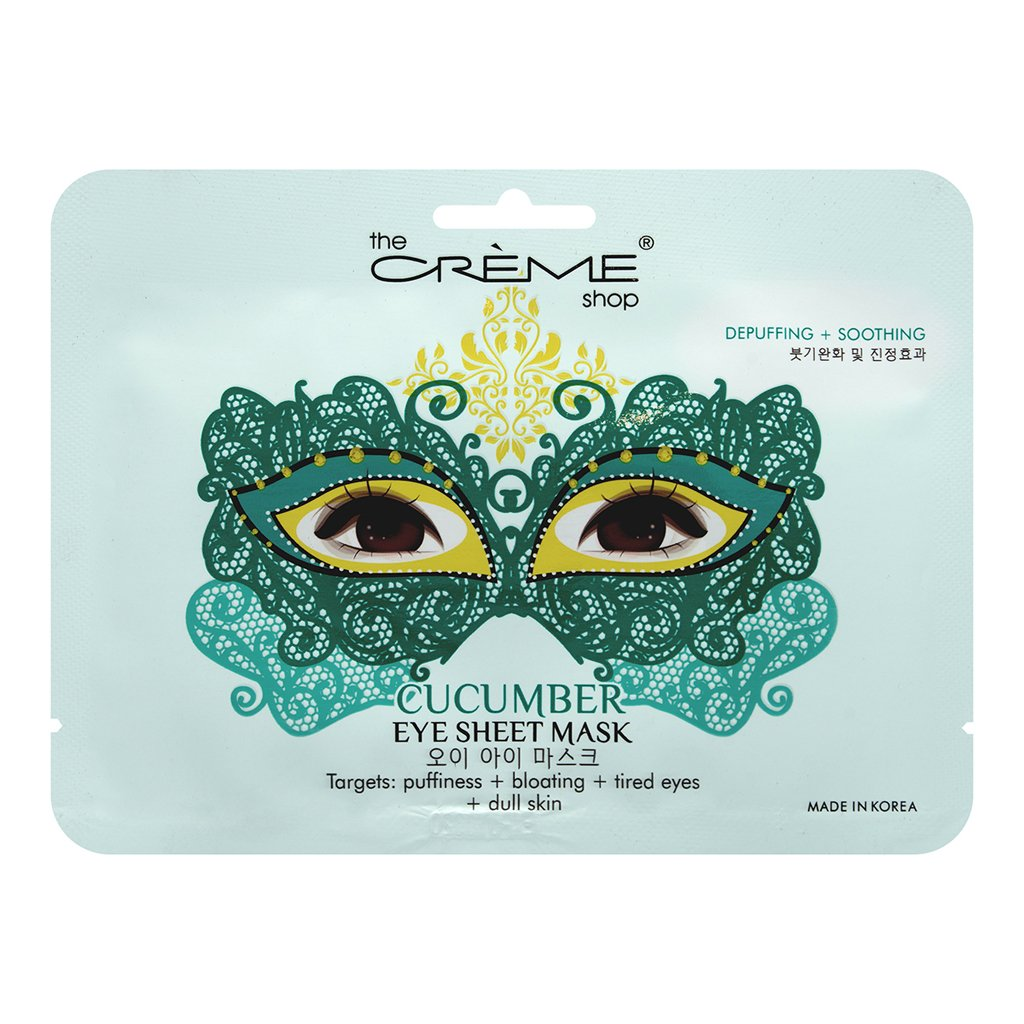 Cucumber Masquerade Eye Sheet Mask - The Crème Shop