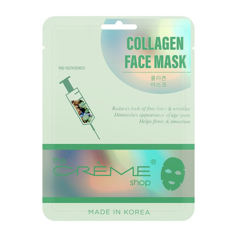 Collagen Face Mask - Pro Youth Remedy, Sheet masks - The Crème Shop