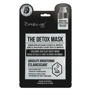The Detox Mask - Volcanic Ash Clay Sheet Mask - the-creme-shop-cosmetics-and-beauty-supply