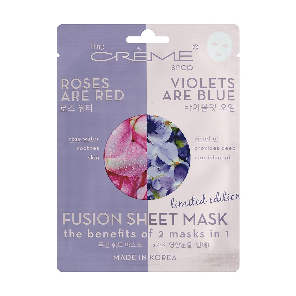 Rose Water & Violet Oil Fusion Mask - The Crème Shop