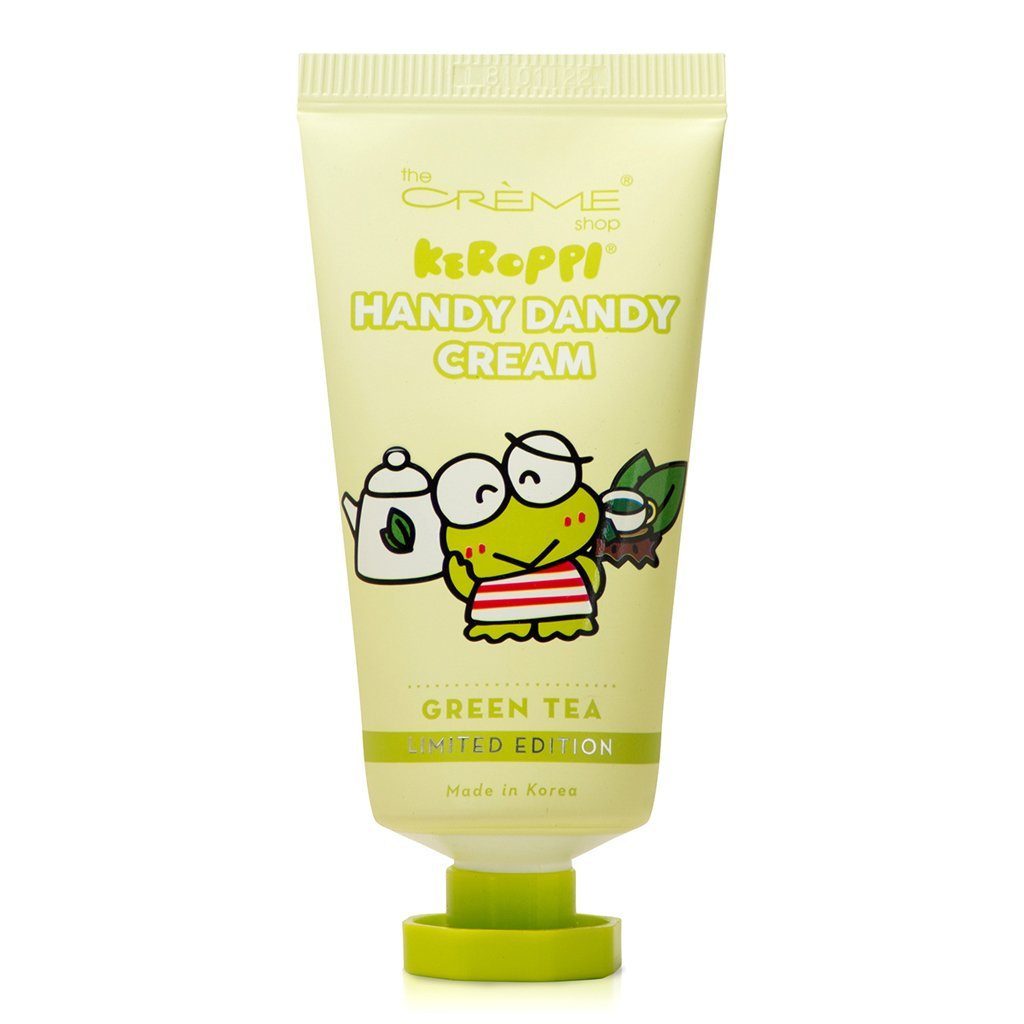 Keroppi Handy Dandy Cream - Green Tea - The Crème Shop