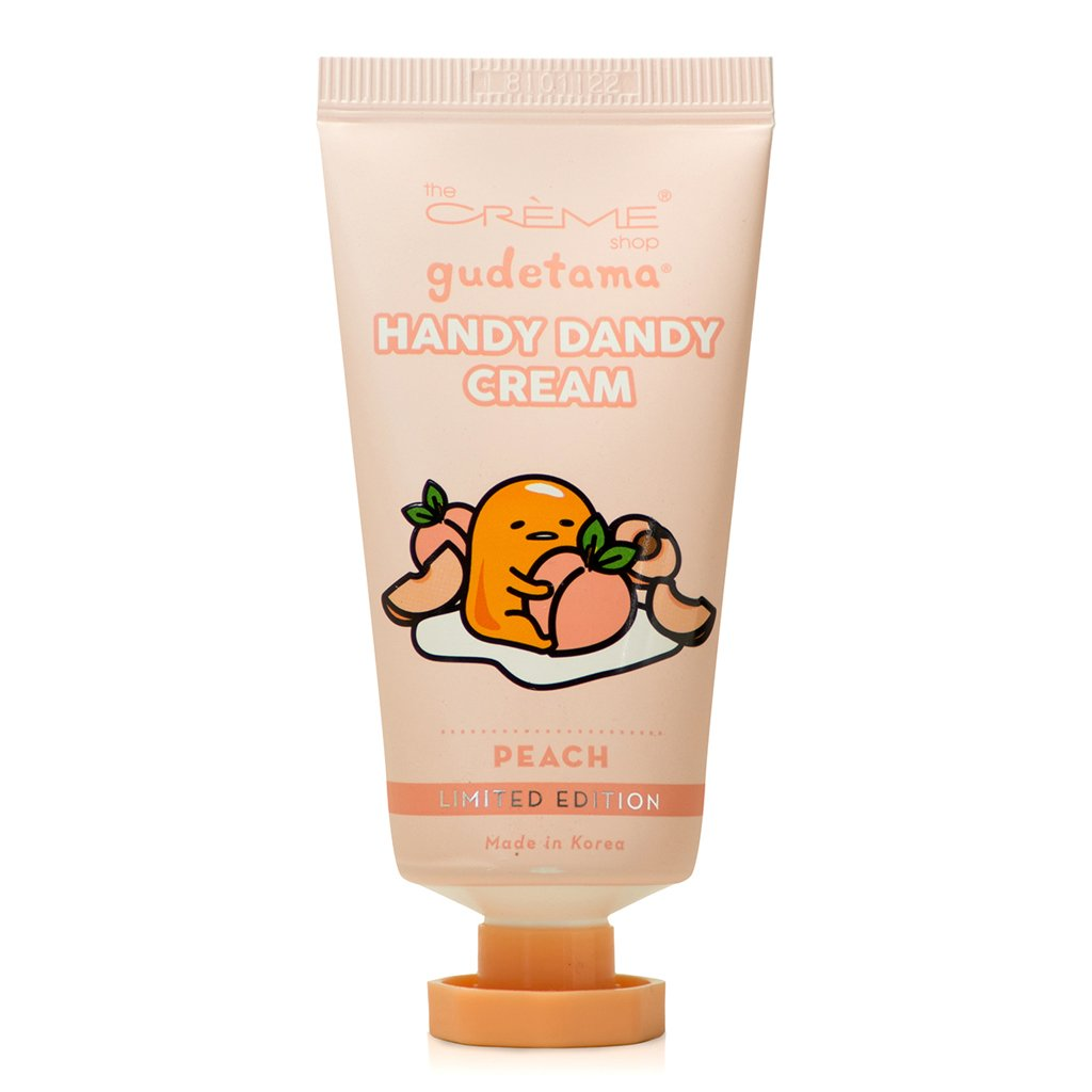 Gudetama Handy Dandy Cream - Peach The Crème Shop x Sanrio The Crème Shop