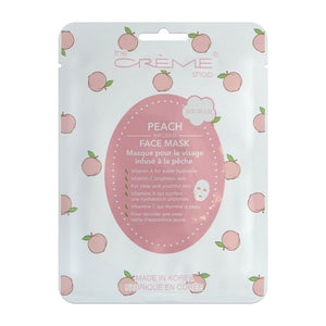Peach Face Mask - The Crème Shop