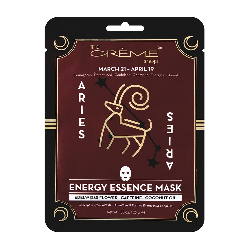 Energy Essence mask - Aries Zodiac Mask The Crème Shop Single