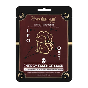 Energy Essence mask - Leo Zodiac Mask The Crème Shop Single