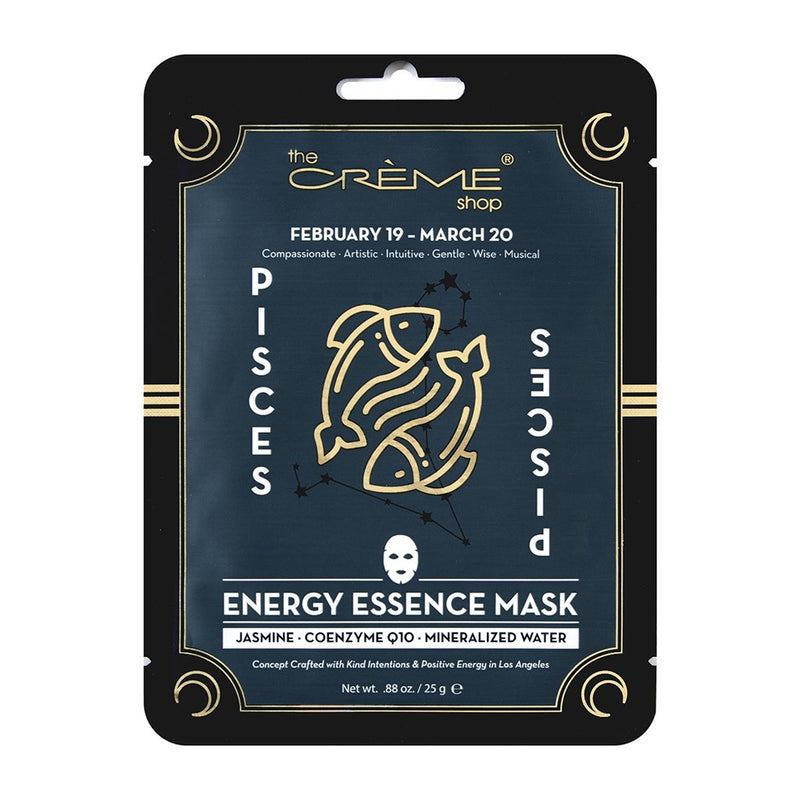 Energy Essence mask - Pisces Zodiac Mask The Crème Shop Single
