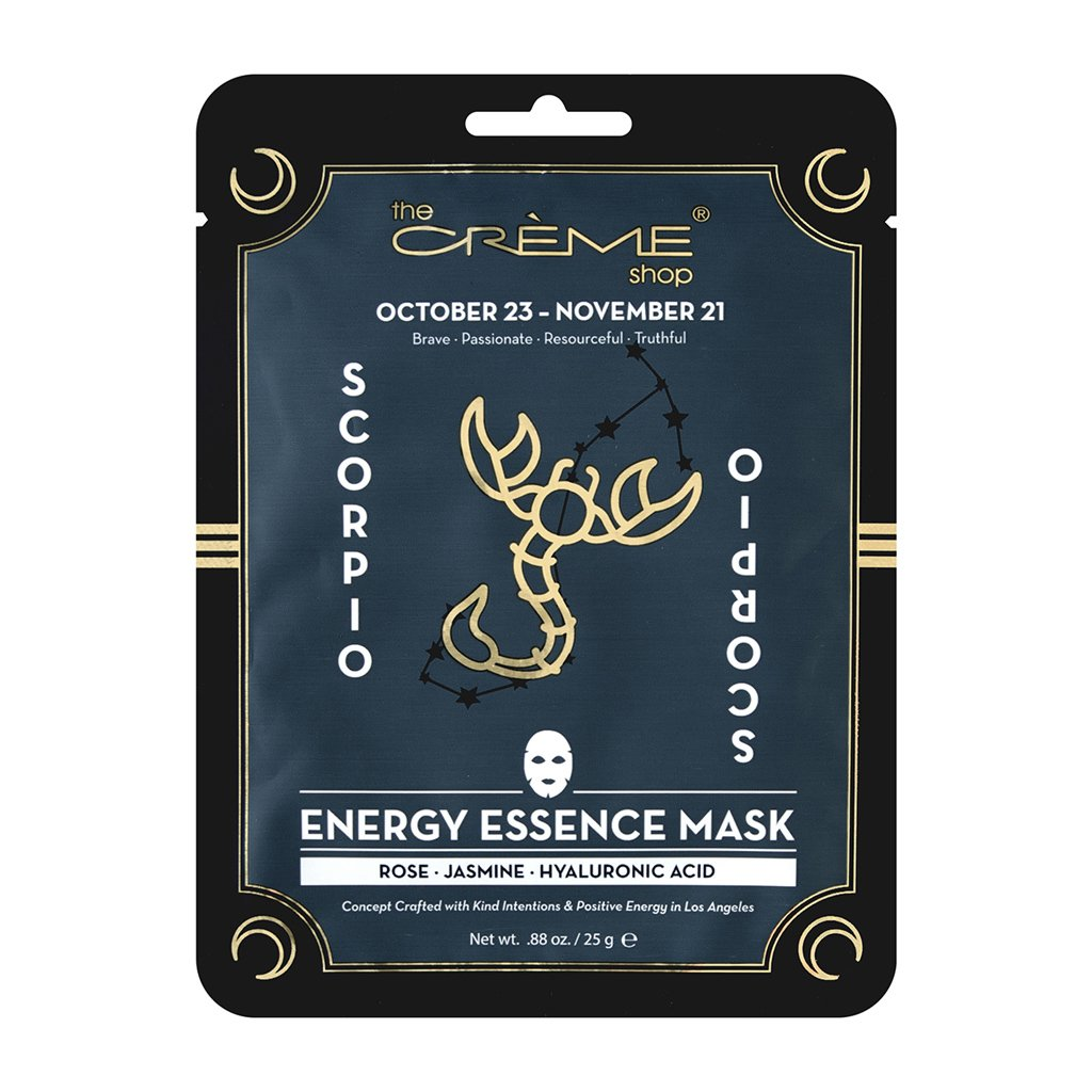Energy Essence mask - Scorpio - The Crème Shop