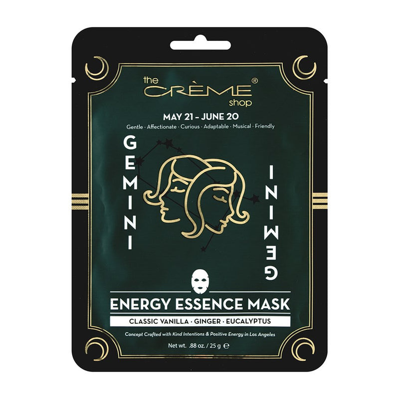 Energy Essence mask - Gemini Zodiac Mask The Crème Shop Single