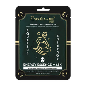 Energy Essence mask - Aquarius Zodiac Mask The Crème Shop Single