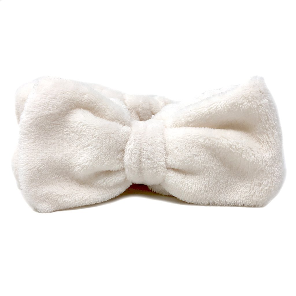 Natural Plushie Spa Headband - the-creme-shop-cosmetics-and-beauty-supply