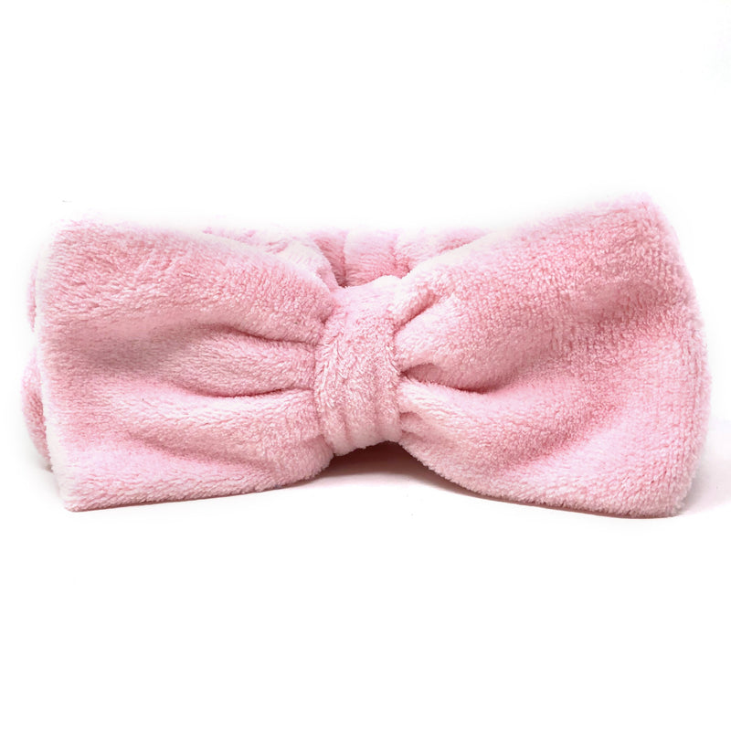 Pink Plushie Spa Headband - the-creme-shop-cosmetics-and-beauty-supply