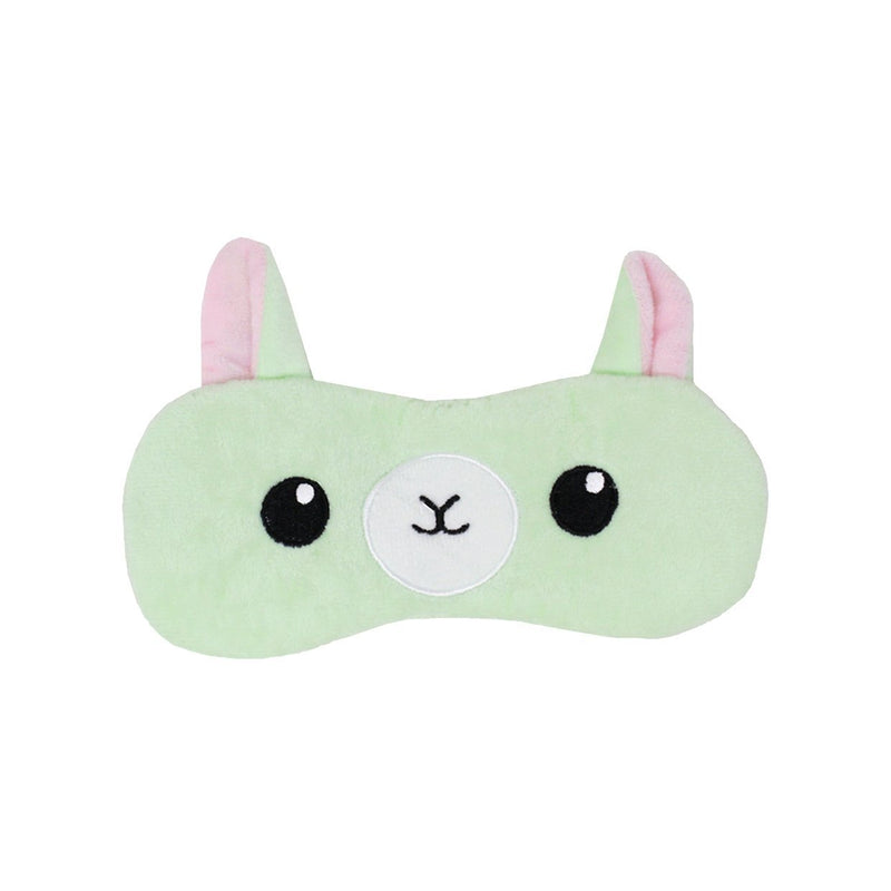 Lazy Llama Plush Sleep Mask - The Crème Shop