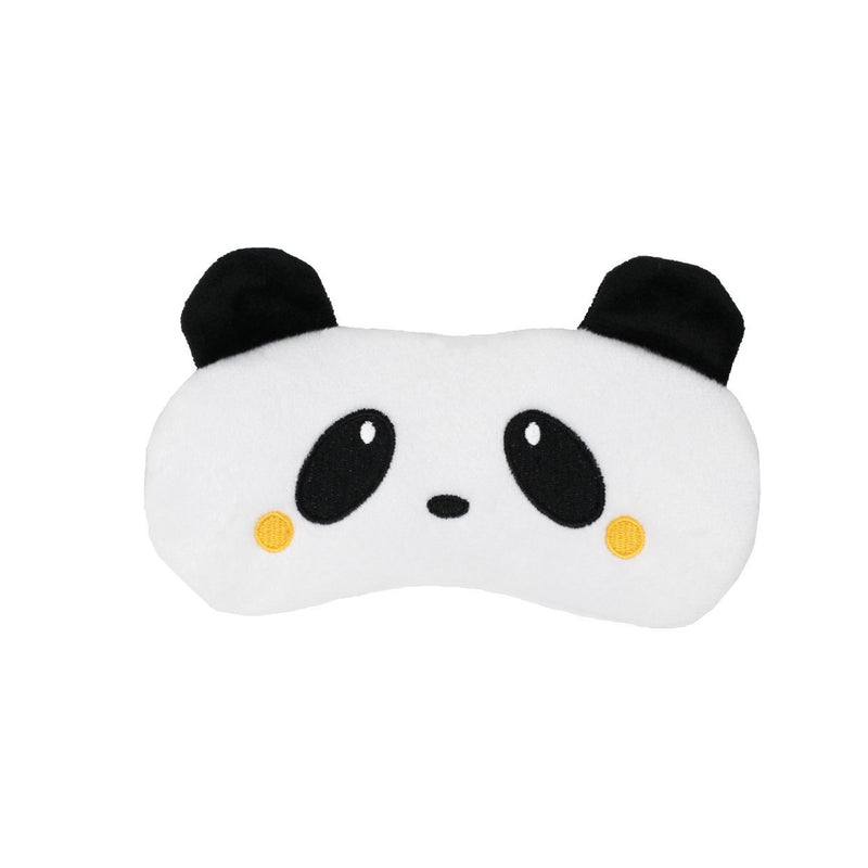Peaceful Panda Plush Sleep Mask - The Crème Shop