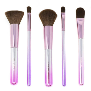Techicolor Dreams - Set of 5 Face + Eye Brushes - The Crème Shop