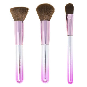 Techicolor Dreams - Set of 3 Face Brushes - The Crème Shop