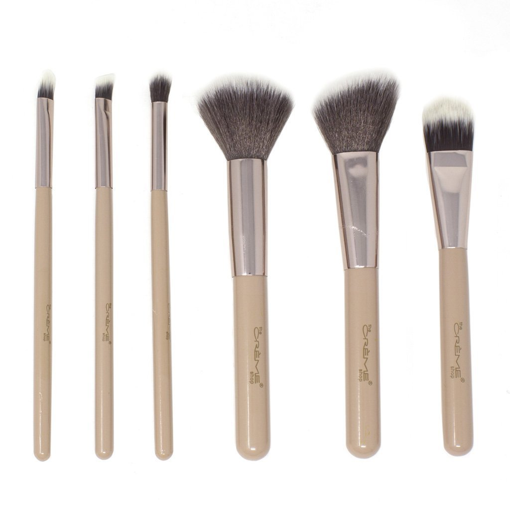 Blend & Snatch Rose Gold - 6 Brushes For a Picture Perfect Finish Silver - the-creme-shop-cosmetics-and-beauty-supply