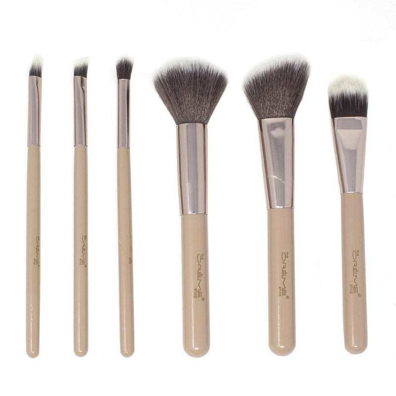Blend & Snatch Rose Gold - 6 Brushes For a Picture Perfect Finish Silver - The Crème Shop