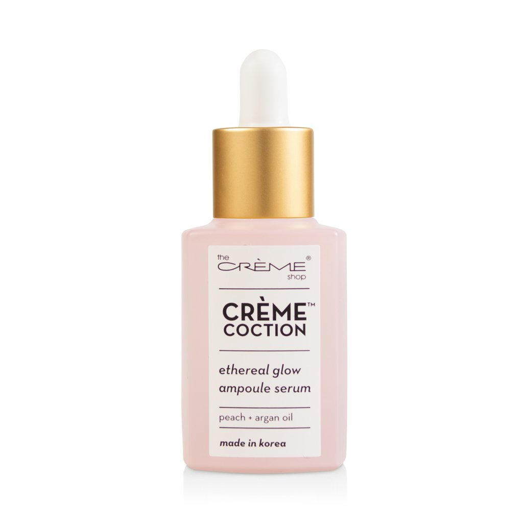 Ethereal Glow Ampoule Serum - Crèmecoction Peach + Argan Oil - The Crème Shop