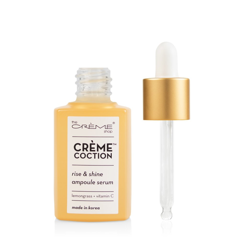 Rise & Shine Ampoule Serum - Crèmecoction Lemongrass + Vitamin C - The Crème Shop