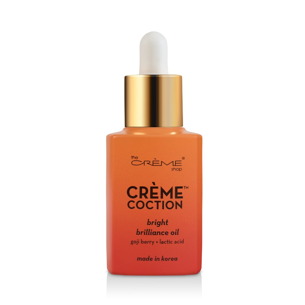Bright Brilliance Oil - Crèmecoction Goji Berry + Lactic Acid - The Crème Shop