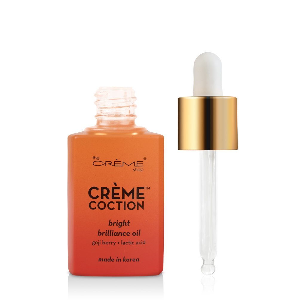 Bright Brilliance Oil - Crèmecoction Gogi Berry + Lactic Acid - the-creme-shop-cosmetics-and-beauty-supply