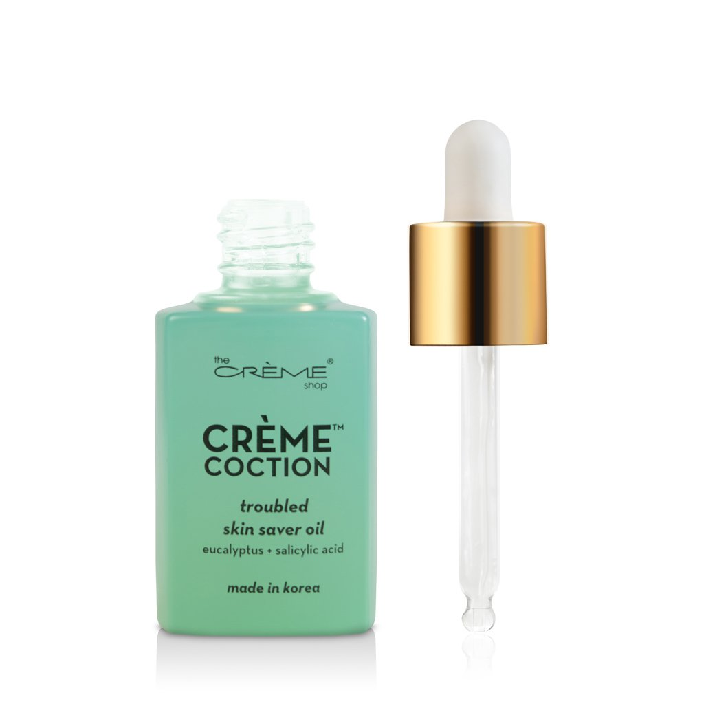Troubled Skin Saver Oil - Crèmecoction Eucalyptus + Salicylic Acid - The Crème Shop