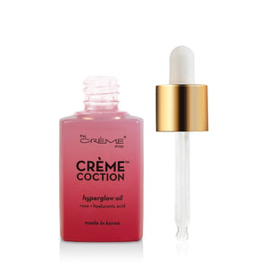 Hyperglow Oil - Crèmecoction Rose + Hyaluronic Acid - The Crème Shop