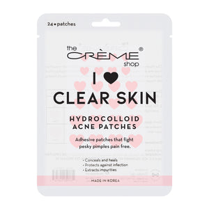 I ❤ Clear Skin - Hydrocolloid Acne Patches ️ - The Crème Shop