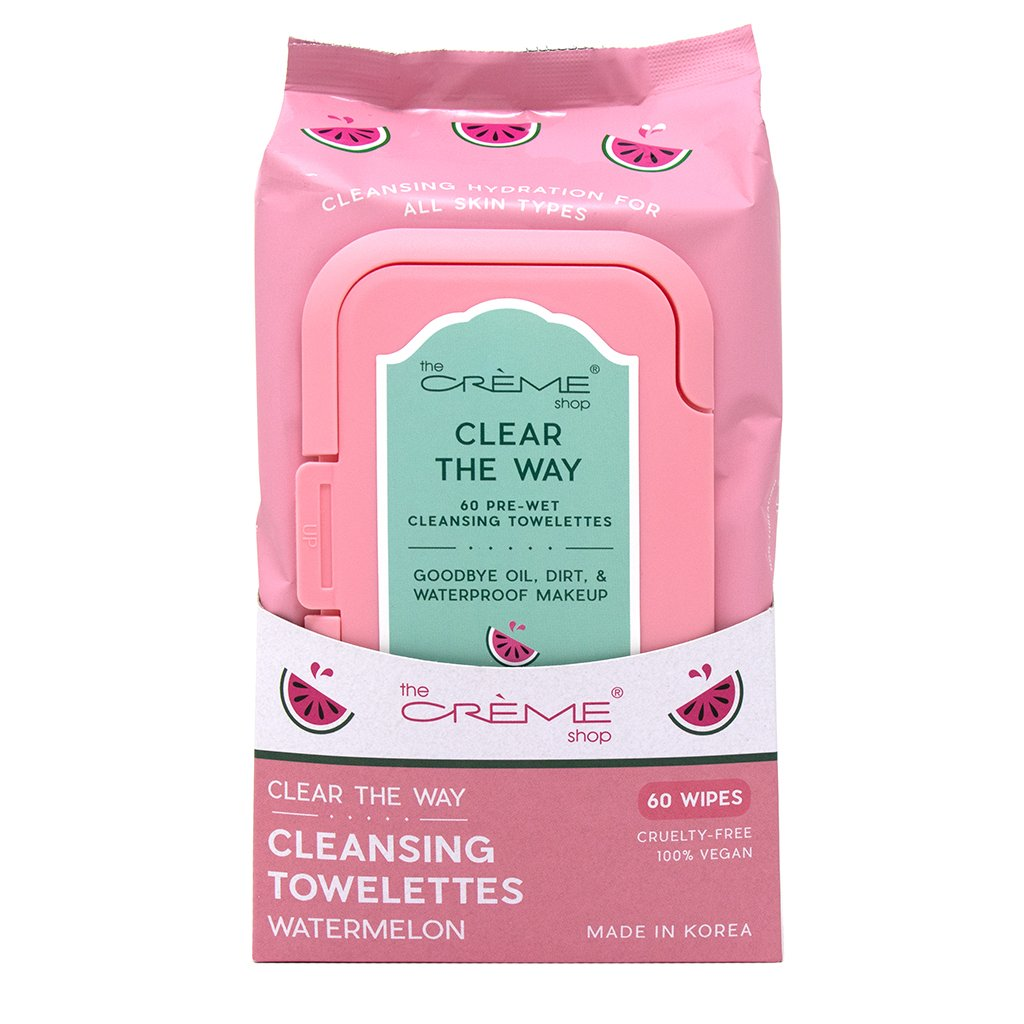 Complete Cleansing Watermelon Pre-Wet Towelettes - The Crème Shop
