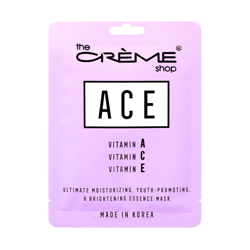 ACE Essence Sheet Mask | Youth-Promoting & Brightening Sheet masks The Crème Shop