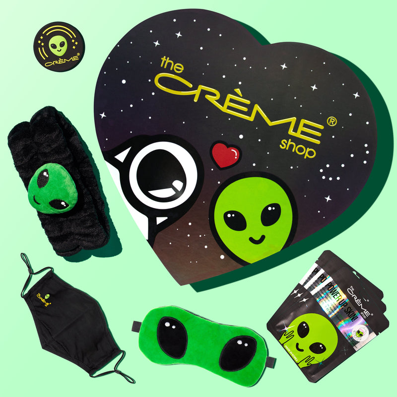 Out Of This World Alien Bundle with Heart Box - The Crème Shop
