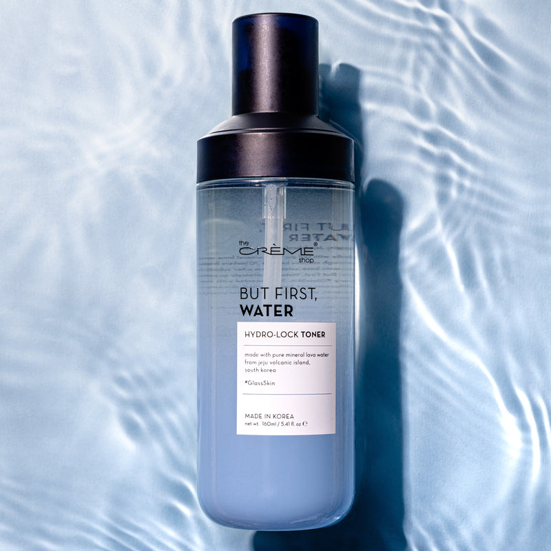 But First, Water - Hydro-Lock Toner - The Crème Shop