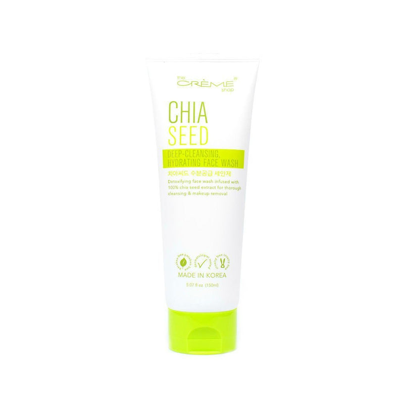 Chia Seed Deep-Cleansing, Hydrating Face Wash - The Crème Shop