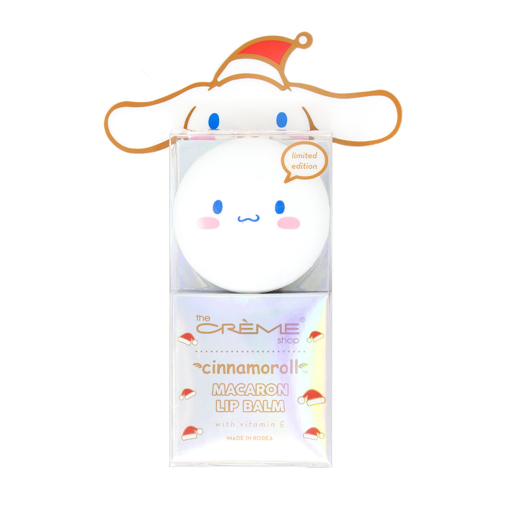 Cinnamoroll Macaron Lip Balm - Peppermint Cocoa - The Crème Shop