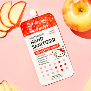 Hello Kitty Moisturizing Hand Sanitizer - Candy Apple Scented 5 Pack - The Crème Shop