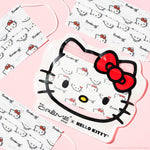 Hello Kitty 3-Ply Disposable Protective Face Mask | Classic White Protective Masks The Crème Shop x Sanrio Set of 14 + Reusable Hello Kitty Pouch