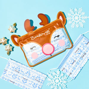 3-Ply Protective Face Mask - Winter Wonder (Disposable) - The Crème Shop