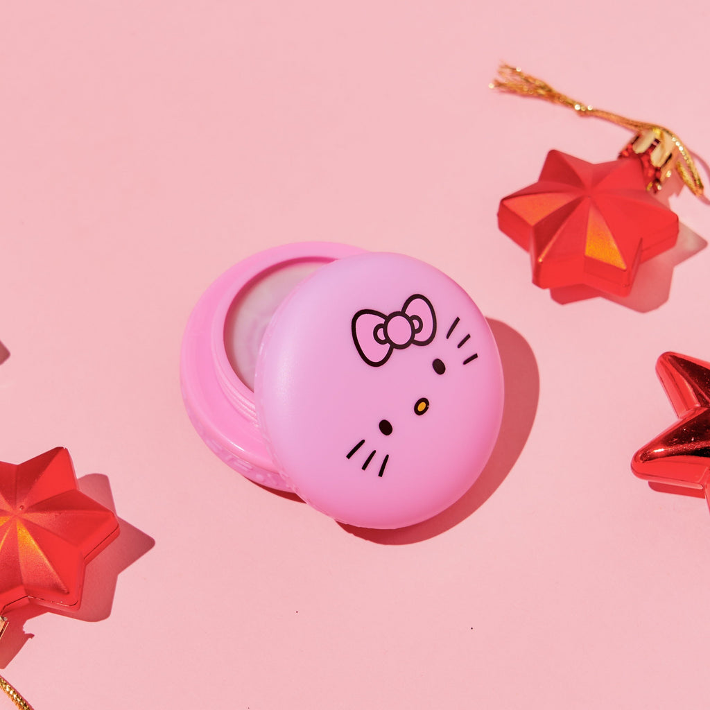 Hello Kitty Unicorn Holiday Macaron Lip Balm - Winter Apple Pie - The Crème Shop