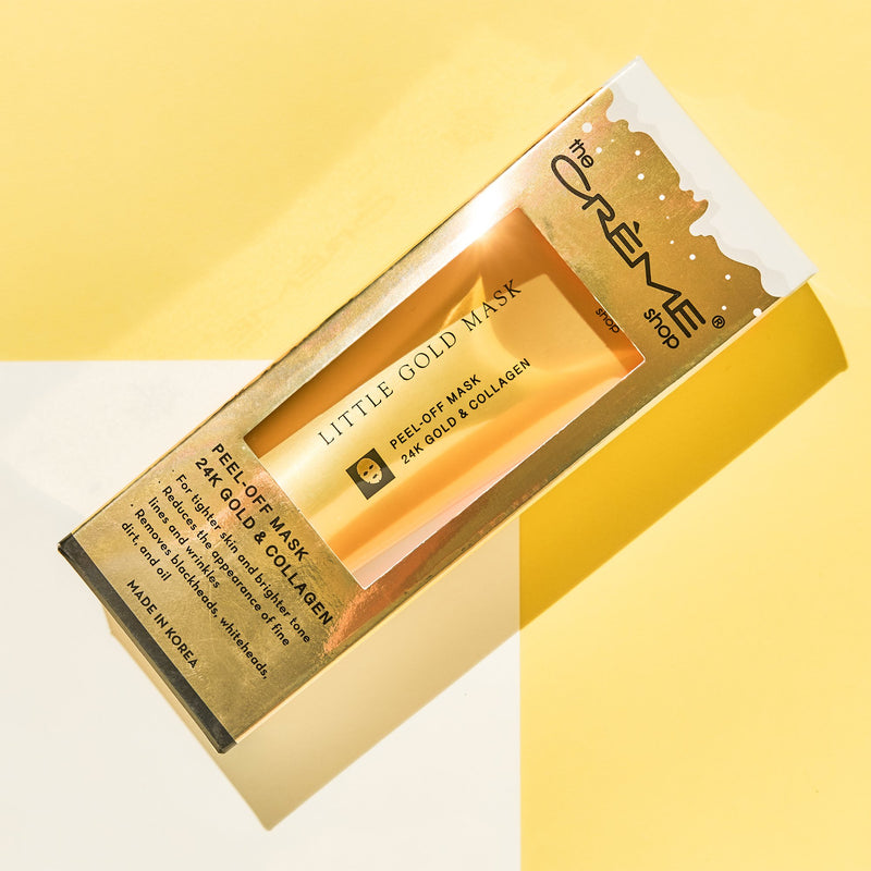 Little Gold Peel-Off Mask Holiday Edition - The Crème Shop